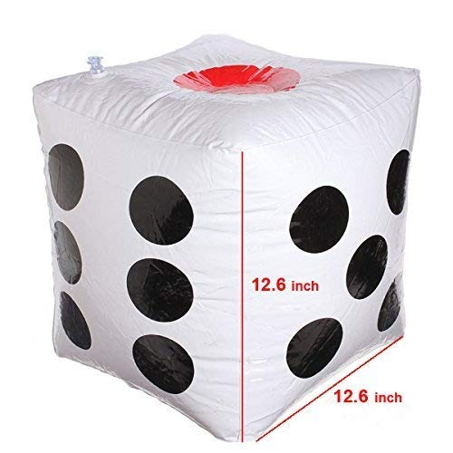13 Jumbo Inflatable Dice Pack of 2