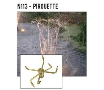 ProEco Display Fountain Nozzles - Pirouette Nozzles