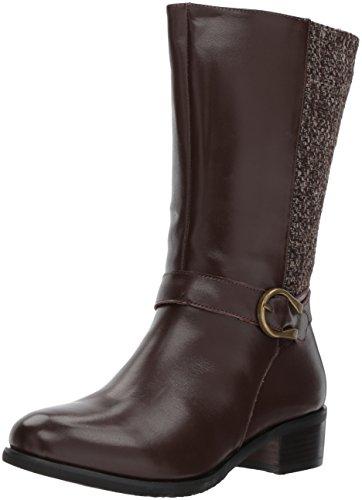 Propet Women's Tessa Riding Boot, Brown, 9 M US