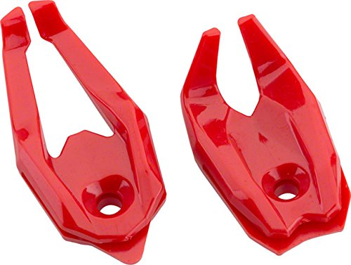 End Cage (XLAB Raptor Talons Water Bottle Cage End Pieces: Red Pair)