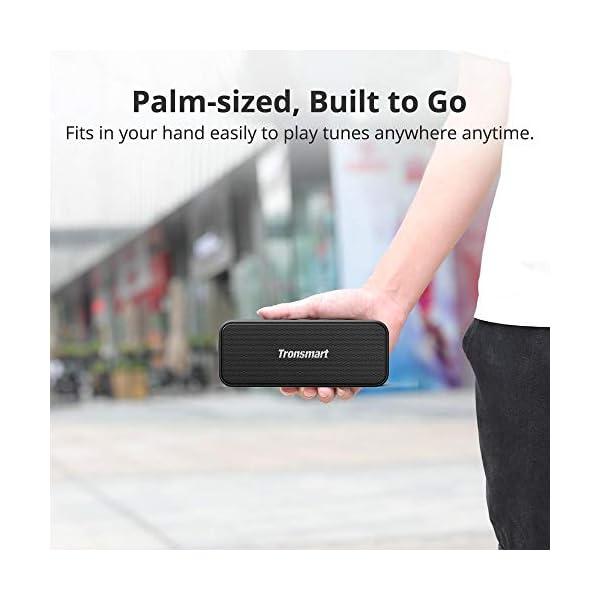 Enceinte Bluetooth Portable, Tronsmart T2 Plus Haut-Parleur sans Fil Extérieur Speaker 20W Bass e Audio Puissant, Speaker Bluetooth 5.0, Autonomie 24H, Étanche IPX7,TWS, Assistant Vocal 7