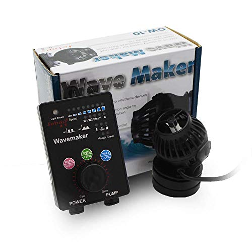 Jebao OW-10 Wavemaker with Wireless Controller and Magnet Mount 132-1056GPH for Marine Reef Aquarium Fish Tank (OW-10)
