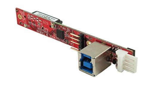 Ableconn IUSB3SAOD SATA Slimline Optical Drive (ODD) to USB 3.0 Type-B (F) Mini Vertical Adapter Board - Convert a Slim SATA Optical Drive to a USB 3.0 ODD Drive by Ableconn (Image #1)