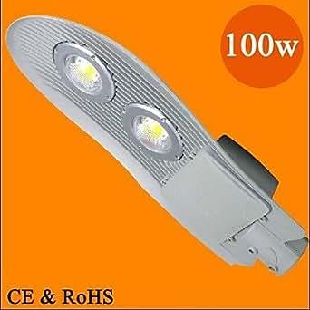 LY 100w llevó camino de la serpiente forma calle parque lámpara luz de la calle patio llevó luces AC86-265V ip65 impermeable , White