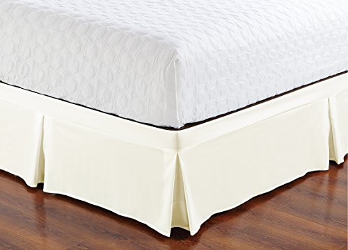 (De Moocci Wrap Around Style Tailored Bed Skirt,)