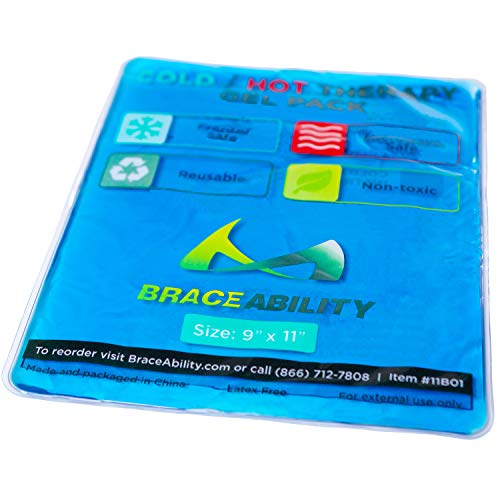 BraceAbility Reusable Cold & Hot Therapy Gel Pack | 9
