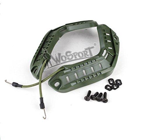 Side Acc Rail - Tactical ARC FAST Helmet Accessory Rail Mount Kit Helmet Side Rail Guide CS Airsoft Protective Gear