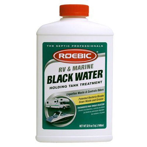 Roebic RV-Q-12 32-Ounce RV and Marine Water Treatment, Black by Roebic