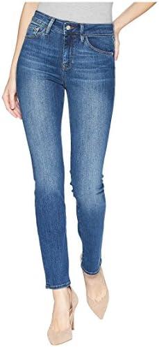 Mavi Women's Kendra High-Rise Straight Leg Jeans