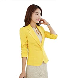 Amazon.com: Yellows - Blazers / Suiting & Blazers: Clothing, Shoes ...