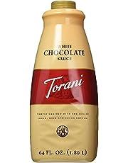 Torani Torani White Chocolate Sauce, 64 Ounce, 64 Ounces