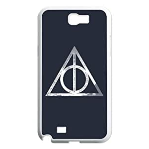 Samsung Galaxy N2 7100 Cell Phone Case White Harry Potter NDJ Plastic Phone Cases Clear