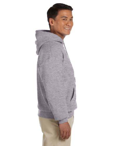 Gildan Adult Heavy Blend� Hooded Sweatshirt (Sport Grey ) (Large)