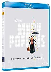 Mary Poppins - Edición 50º Aniversario [Blu-ray]: Amazon.es ...
