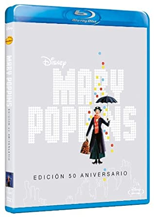 Mary Poppins (50º Aniversario) (Blu-Ray) (Import Movie) (