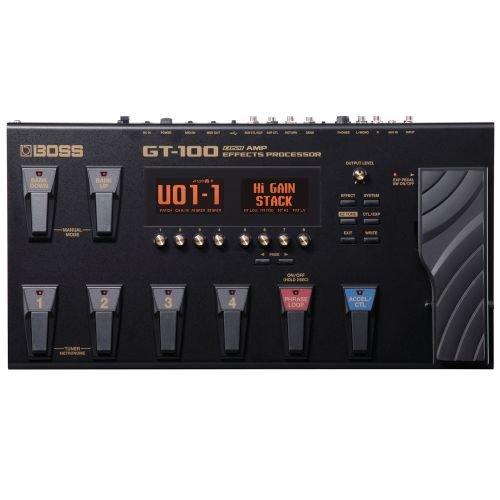 Boss GT-100 Guitar Multi-Effects Pedal (Best Guitar Processor For Beginners)