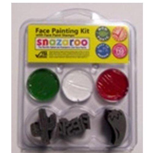 Snazaroo Fiesta Stamp Kit colors