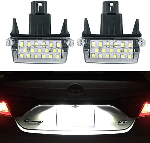 2x 18 LED License Plate Number Lights Car Lamp For Toyota Camry YARIS//EZ//VIOS