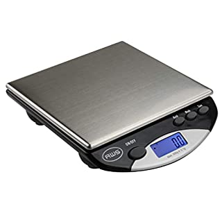 American Weigh Scales AWS-500I Compact Bench Scale, Black, 500G x 0.1G (AMW-500I-BLK)