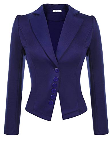 Autunno Marca Slim Di Lunga Bavero Outerwear Donna Giacca Da Schwarz Ovest Breasted Tailleur Fit Mode Business Puro Manica Moda Giaccone Colore Single tfqOwnXwA