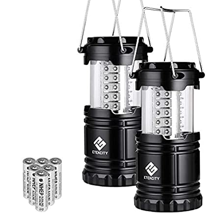 Etekcity Lantern LED Camping Lanterns, Battery Powered...