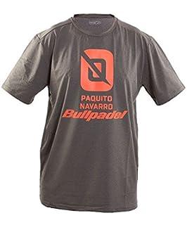 Camiseta BullPadel Trebu Paquito Navarro (L): Amazon.es ...
