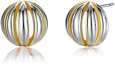 Earrings,Dangle Drop Earrings, Simple Fashion Square & Cone Stainless Steel Drop Earrings (style B)