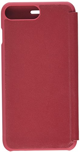 Knomo 90-071-CHI Folio-Ledertasche für Apple iPhone 7 Plus chili
