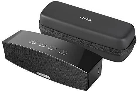 Anker Premium Stereo Bluetooth 4.0 Speaker with Protective Carrying Case, 20W Audio Output from Dual 10W Drivers, Portable Wireless Speaker for iPhone, iPad, Samsung, Nexus, HTC and More