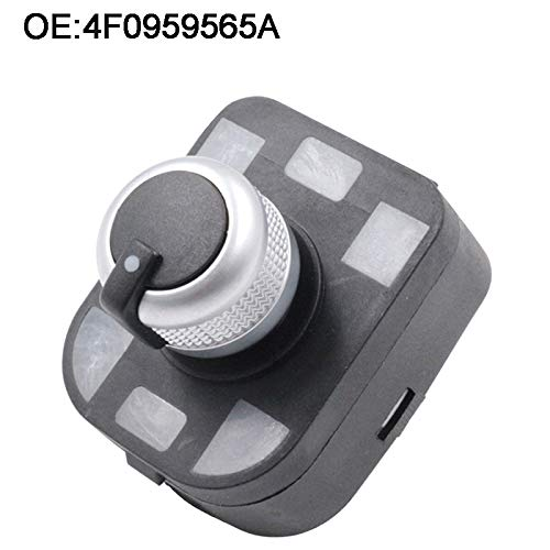 Fincos 4 Pin Side Mirror Switch Without Floding for Audi A4 S4 B6 A6 Quattro Q7 R8 TT RS4 2001-2012 4F0959565A 4F0 959 565A
