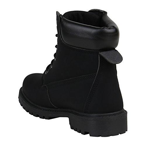 Damen Stiefeletten Outdoor Boots Warm Gefütterte Stiefel