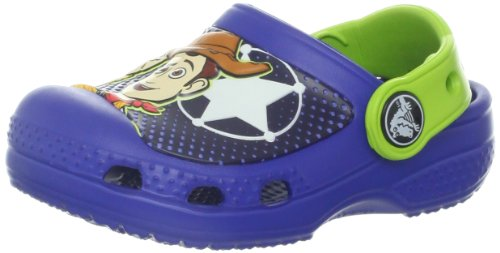 crocs 15259 CC Woody And Buzz Clog (Toddler/Little Kid),Cerulean Blue,1 M US Little Kid (Buzz Lightyear Shoes)