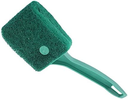 XMHF Sponge Fish Tank Glass Cleaning Brush Scrubber Cleaner Green for Aquarium