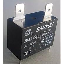Relé Sanyou Sfk 112dm 12vcc 20a P/Ar Condicionado Split