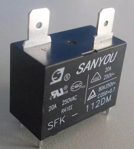 2 Pcs SFK-112DM 20A/250VAC Relay Module Tebuyus
