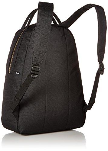 41MbrB6KJvL - Herschel Nova Mid-Volume Backpack, Black, One Size