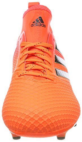 3 Hommes Rouge Multicolores Solaire De Chaussures 17 Fg Noir Pour Adidas Soccer Ace solaire Orange p6q8qR