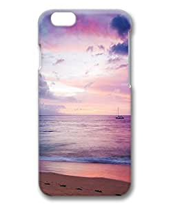 Dreamy Sea Boat Beach Protective Hard PC Snap On 3D Case for iphone 6 4.7-1122071
