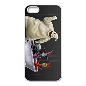 LJF phone case Christmas Hallowmas feeling practical Cell Phone Case for iPhone 5S(TPU)