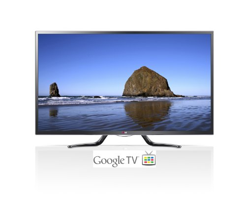 LG Electronics 55GA6400 55-Inch Cinema 3D 1080p 120Hz LED-LCD HDTV with Google TV and Four Pairs of 3D Glasses (2013 Model) (Television Lg 39 compare prices)