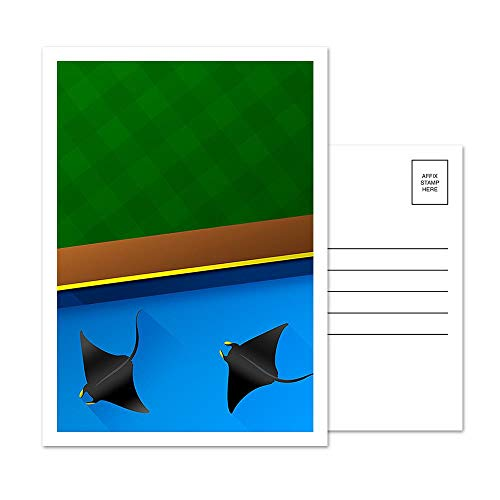 Tropicana Field - Tampa Bay Rays - Minimalist Art Postcard Set (5 Card Set)