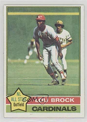(Lou Brock (Baseball Card) 1976 Topps - [Base] #10)