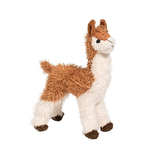 Douglas Toys 7 Inch Lena Mini Llama, Llama - Alpaca