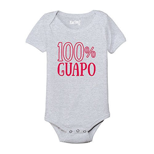 100% GUAPO Cinco De Mayo Spanish Mexico Mexican Holiday Novelty - Baby One Piece