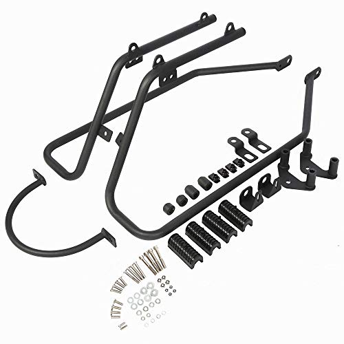- Saddlebag Conversion Brackets Mounting Kit For 04-UP Harley Davidson Sportster