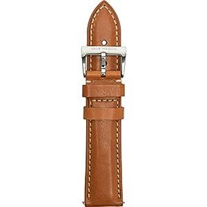 Jack Mason Nautical Watch Watch Band   Tan Leather