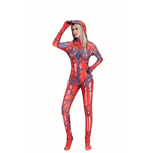 Gwenom Cosplay Costume Halloween Lycra Carnage Venom Spider