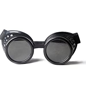 FLORATA New Sell Vintage Steampunk Goggles Glasses Welding Punk Gothic