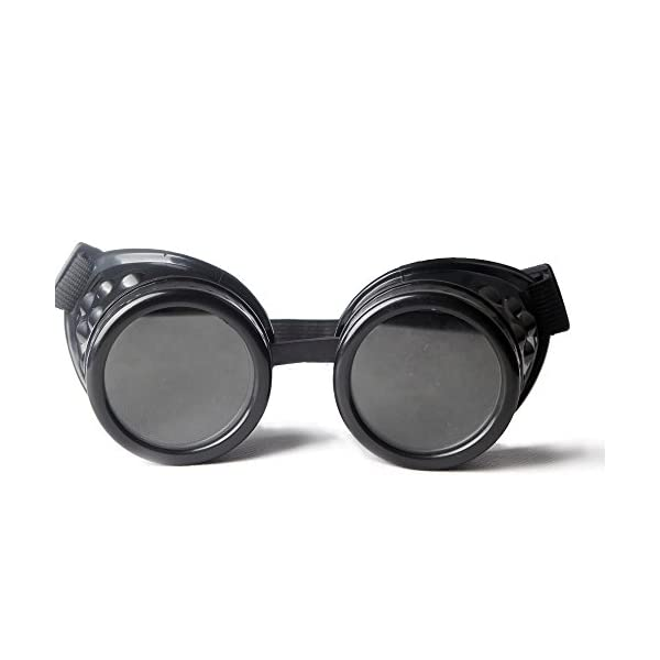 FLORATA New Sell Vintage Steampunk Goggles Glasses Welding Punk Gothic 4