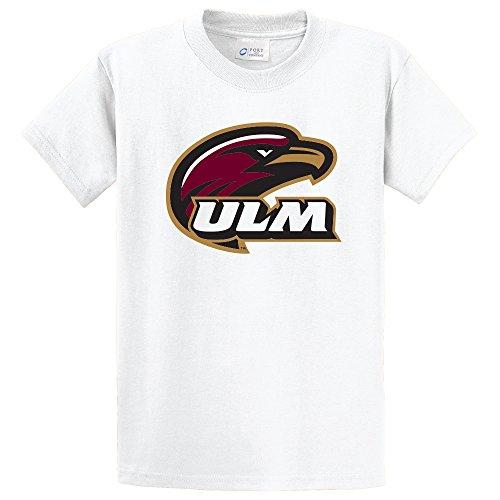 (Campus Merchandise NCAA Louisiana Monroe Indians Short Sleeve Tee, Medium, White)